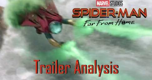 Spider Man: Far From Home Trailer Analysis | Geekville Radio