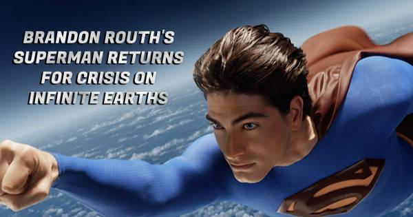 Brandon Routh Returns to Superman For Arrowverse Crossover