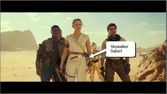 Rise Of Skywalker Footage Breakdown