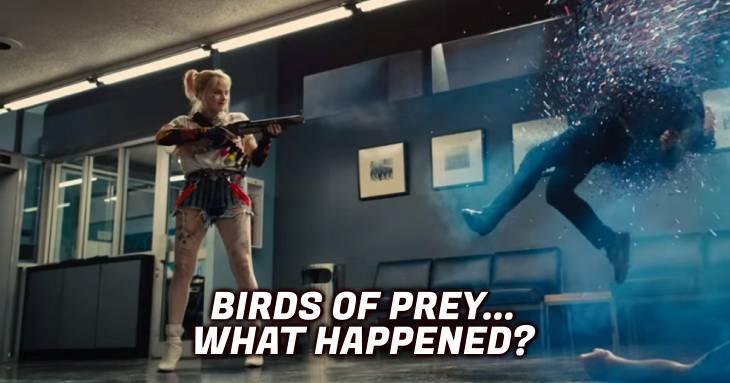 Geekville Radio #254 Birds Of Prey: What Happened?