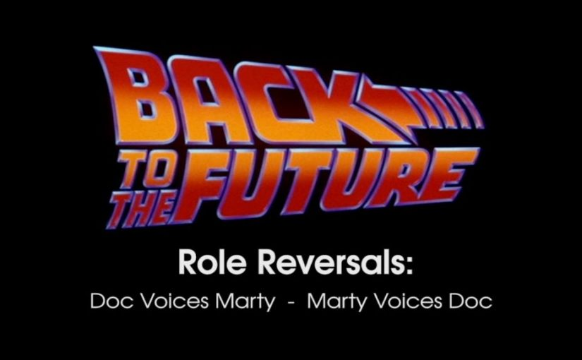 Back To The Future Voice Swap Sounds Surreal